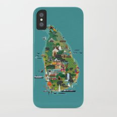 Sri Lanka iPhone X Slim Case