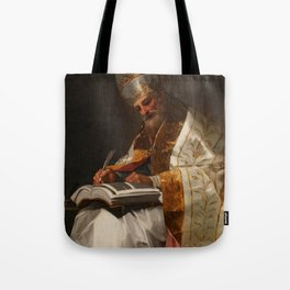"""Francisco Goya """"Saint Gregory the Great, Pope"""" Tote Bag"""