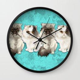 Puff N Chunk Wall Clock