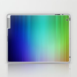 Showering Streaks of Rainbows Laptop & iPad Skin