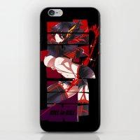 kill la kill iPhone & iPod Skins featuring Kill La Kill by feimyconcepts05