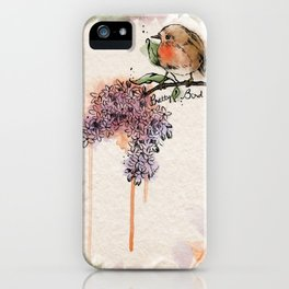 Pretty Bird iPhone Case