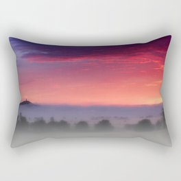 Glastonbury Dawn  Rectangular Pillow