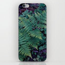 fern frond iPhone Skin