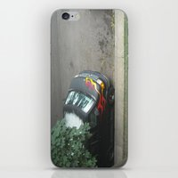 70s iPhone & iPod Skins featuring Smokin'! ~ 70s-ish van by helene smith photography