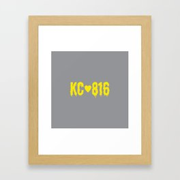 KC 816 Framed Art Print
