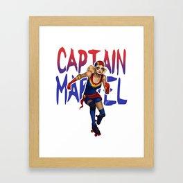 Captain Derby Framed Art Print