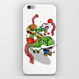 Mushroom Kingdom New Years Lion Dance iPhone Skin