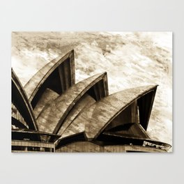 Sydney Opera House  Collection III Canvas Print