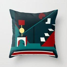 .Obj Throw Pillow