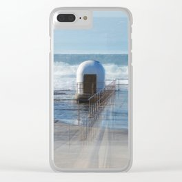 Merewether baths pumphouse Clear iPhone Case