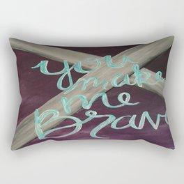 You Make Me Brave Rectangular Pillow