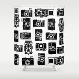 Yashica bundle Camera Shower Curtain