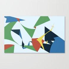 Folds Canvas Print