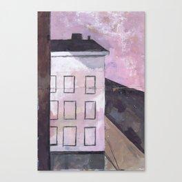 BROOKLYN BUILDING #1 Canvas Print