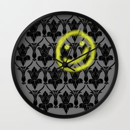 Sherlock smiling wall Wall Clock