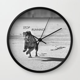 Stop running! Wall Clock