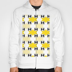 Yellow stars pattern Hoody