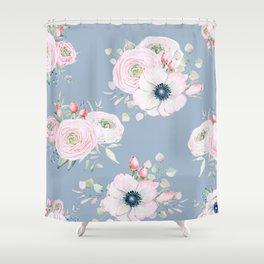 Dog Roses #society6 #buyart Shower Curtain