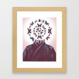 Zentomologist Framed Art Print