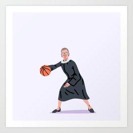 Balling Ruth Art Print