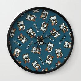 Maneki Neko Marron (Bare Version) Wall Clock