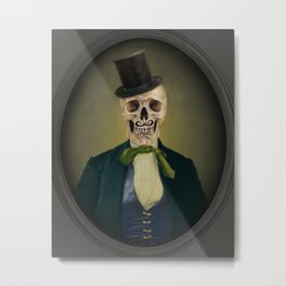 Mister Hinch Metal Print
