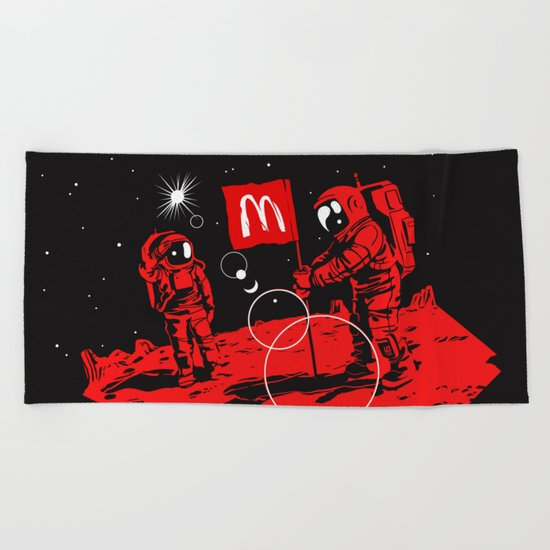First we take Manhattan, Then we take Mars Beach Towel