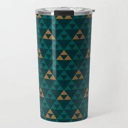 The Golden Power (Green) Travel Mug