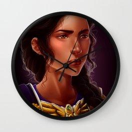 reyna avila ramirez-arellano Wall Clock