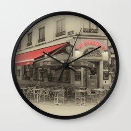 Au Brasseur Wall Clock