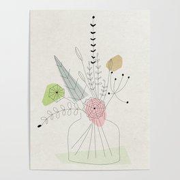 Judy's Bouquet Poster