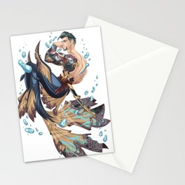 Merman Stationery Cards