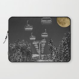 Chair Lift to the Moon Laptop Sleeve
