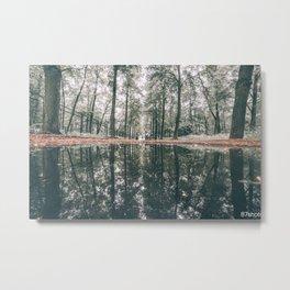 Woodlands Metal Print