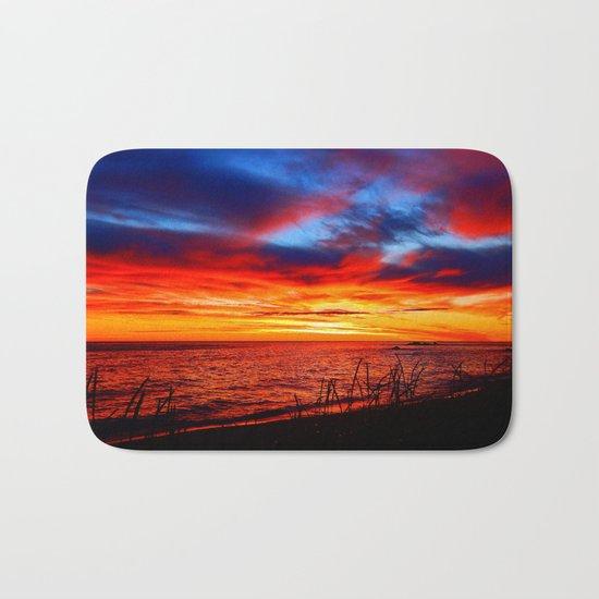 Red Sea at Dawn Bath Mat