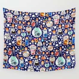 If Happiness Could Be Bottled  Wall Tapestry