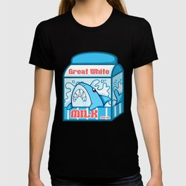 Great White Milk T-shirt