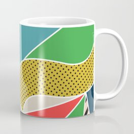 color segments 002 Coffee Mug