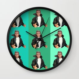 Cool Points - cool colors Wall Clock
