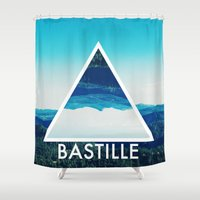 bastille Shower Curtains featuring BASTILLE by Hands in the Sky