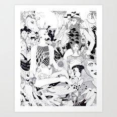 The Works Art Print
