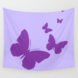 Butterflies on the Wing Wall Tapestry