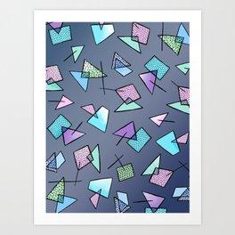 Flying Angles Art Print