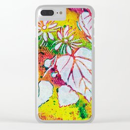 Leaves on the World Tree: Czechs Lípa ( Linden or Lime ) Clear iPhone Case