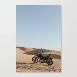 Yahama in the desert Canvas Print