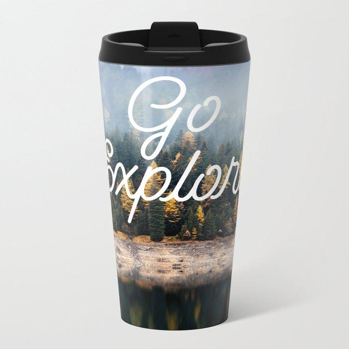 Go Explore Metal Travel Mug