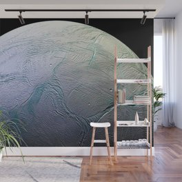 Saturn's moon Enceladus Space Mission Fly-by Photograph Wall Mural