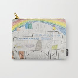 Ocean Oil Rig Carry-All Pouch