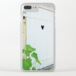 Heart Shaped Door - France Clear iPhone Case